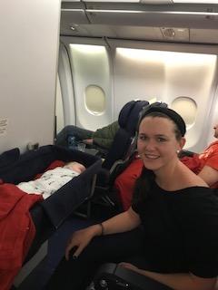 Hudson-bassinet-sleeping